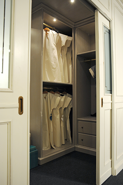 Cabina armadio laccata su misura5 mobili toson - Progettazione cabina armadio ...