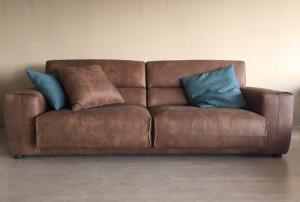Mobili Toson divano in pelle vintage - Mobili Toson arredamenti su ...