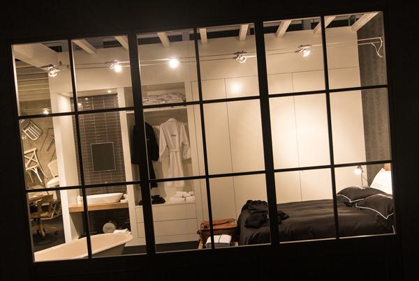Camera da letto con bagno su misura