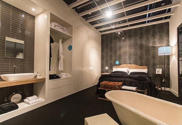 Camera da letto con bagno su misura mobili toson arredamenti su misura vintage country e - Camera da letto con cabina armadio e bagno ...