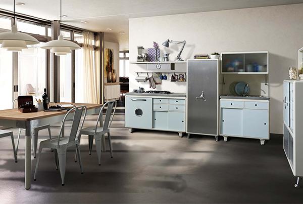 Mobili per cucina vintage design casa creativa e mobili for Mobili design vintage