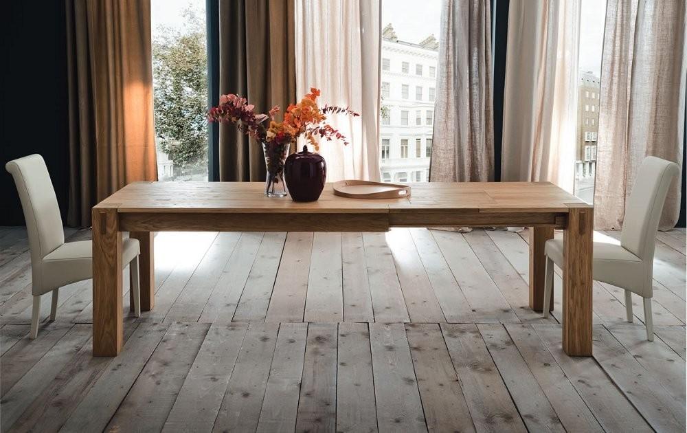 Tavolo in legno allungabile mobili toson arredamenti su - Tavolo legno massello allungabile ...