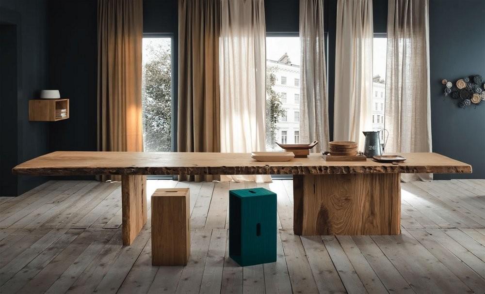 Tavolo legno naturale mobili toson arredamenti su misura vintage country e contemporanei - Mobili legno naturale ...