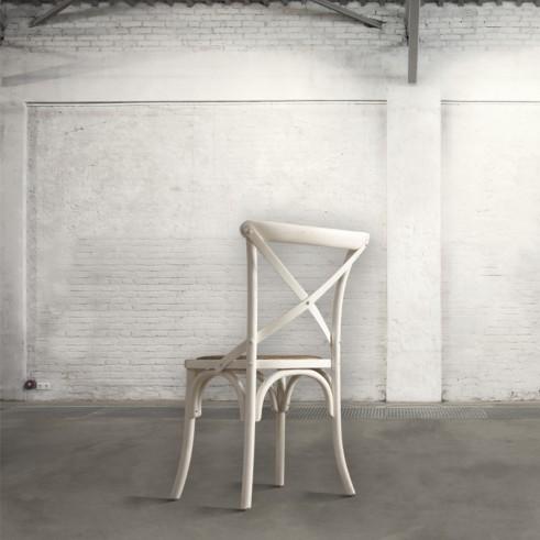 Sedia in legno mobili toson - Sedia legno bianca ...