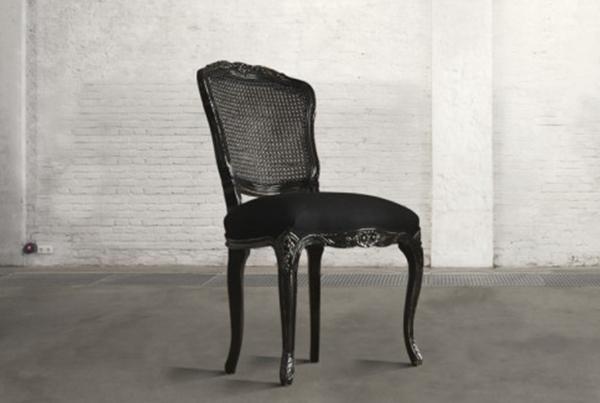 Sedia Imbottita Nera Fabiola : Speciale sedie mobili toson