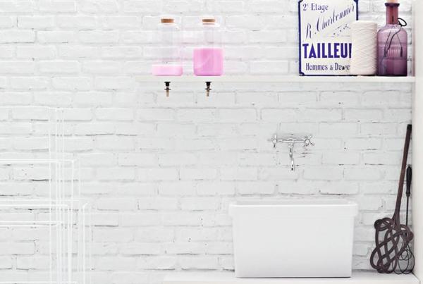 La lavanderia!
