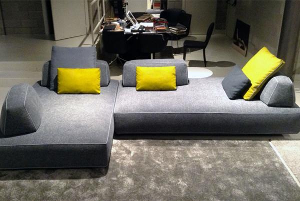 Il divano di design dalla libera composizione