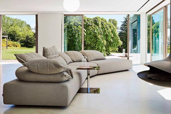 Extra Soft Sensation | il divano in tessuto che ti coccola
