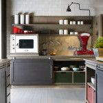 Mobili Toson cucina in stile Industrial Chic