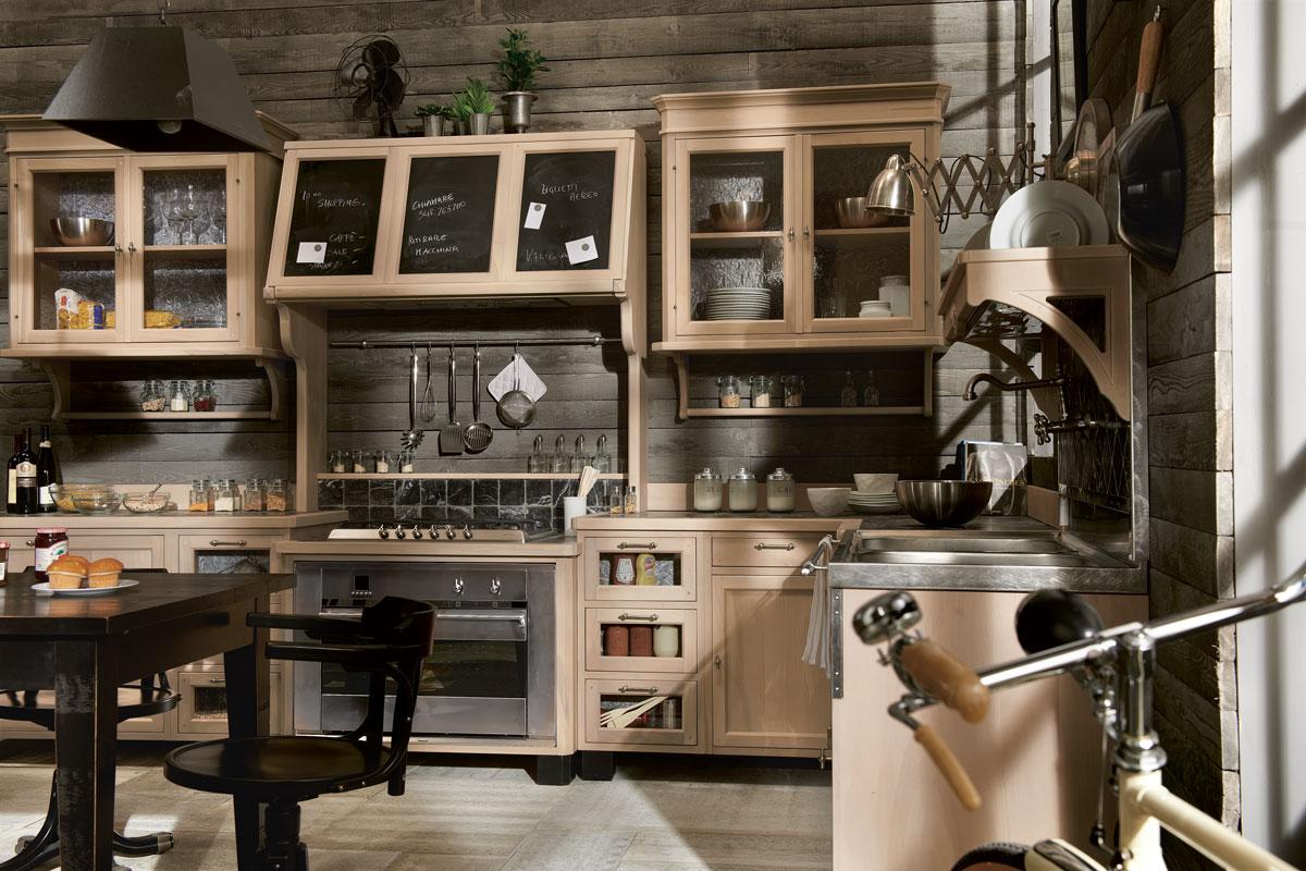 cucina-vintage-4 - Mobili Toson arredamenti su misura vintage country e contemporanei