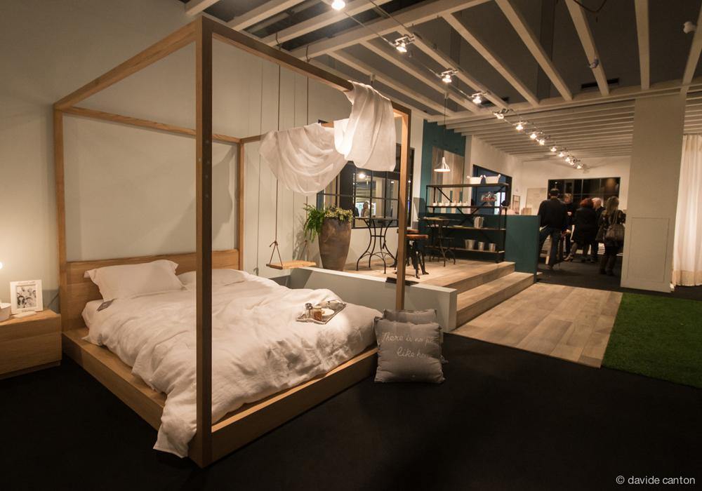 Camera da letto con baldacchino 1 mobili toson - Camera da letto con baldacchino ...